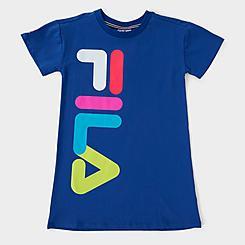 Girls' Fila Logo T-Shirt Dress