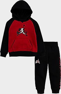 Boys' Toddler Jordan Mashup Classics Hoodie and Jogger Pants Set