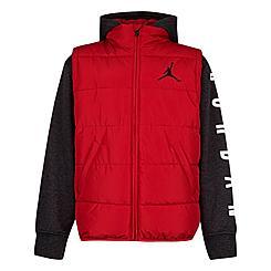 Boys' Toddler Jordan Air 2Fer Puffer Jacket