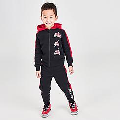 Boys' Toddler Jordan Jumpman Classics Full-Zip Hoodie and Jogger Pants Set