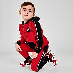 Kids' Toddler Jordan Jumpman Full-Zip Jacket and Jogger Pants Fleece Set