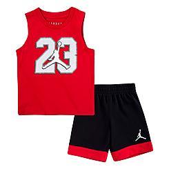 Boys' Toddler Jordan Jumpman Muscle Tank and Shorts Set