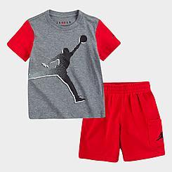 Boys' Toddler Jordan Jumpman T-Shirt and Cargo Shorts Set