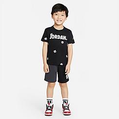 Boys' Toddler Jordan Jumpman Post It AOP T-Shirt and Shorts Set