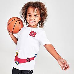 Boys' Toddler Jordan Jumpman Swoosh Sticker T-Shirt