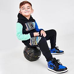 Boys' Toddler Jordan Mismatch Hoodie and Jogger Pants Set