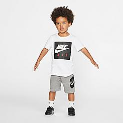 Kids' Toddler Nike Air T-Shirt and French Terry Shorts Set