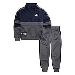 Boys' Toddler Nike Air Half-Zip Pullover and Jogger Pants Set