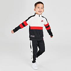 Boys' Toddler Nike Air Half-Zip Pullover and Jogger Pants Set