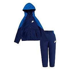 Boys' Toddler Nike Mixed Material Full-Zip Hoodie and Jogger Pants Set
