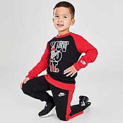 Boys' Toddler Nike Crew Sweatshirt and Jogger Pants Set