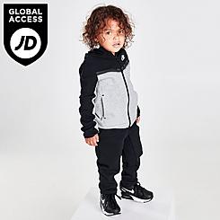 Boys' Toddler Nike Tech Fleece Full-Zip Hoodie and Joggers Set