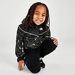 Kids' Toddler Nike Sportswear Glow Windrunner Jacket