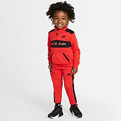 Boys' Toddler Nike Air Tricot Half-Zip Pullover and Jogger Pants Set