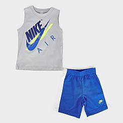 Boys' Toddler Nike Air Muscle Tank and Shorts Set