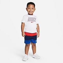 Boys' Toddler Nike Colorblocked T-Shirt and Shorts Set