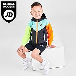Boys' Toddler Nike See Me Full-Zip Jacket and Shorts Set