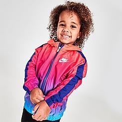 Kids' Toddler Nike Windrunner Rise Woven Wind Jacket