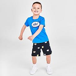 Kids' Toddler Nike Airmoji T-Shirt and Shorts Set