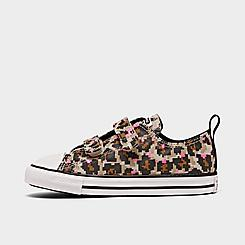 Girls' Toddler Converse 8-Bit Easy-On Leopard Print Chuck Taylor All Star Casual Shoes