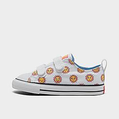 Girls' Toddler Converse Sun Graphic Easy-On Chuck Taylor All Star Casual Shoes