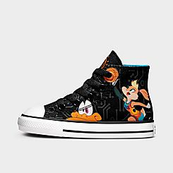 Kids' Toddler Converse x Space Jam Chuck Taylor All Star High Top Casual Shoes