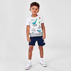 Boys' Toddler Converse Dinosaur T-Shirt and Shorts Set