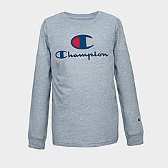Kids' Champion Script Long-Sleeve T-Shirt