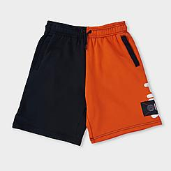 Boys' Fila Daniel Colorblock French Terry Shorts
