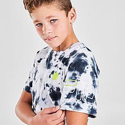 Boys' Fila Aiden Tie-Dye T-Shirt