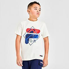Boys' Fila Layered Logo T-Shirt