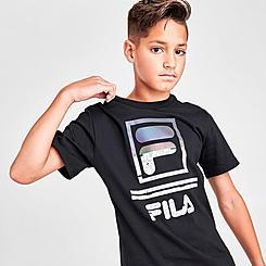 Boys' Fila Dayson Oil Slick Logo T-Shirt
