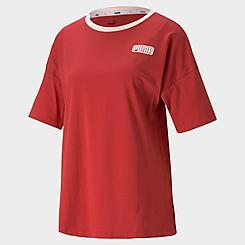 Women's Puma Summer Stripes Fashion T-Shirt