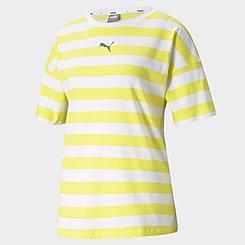 Women's Puma Summer Stripes Allover Print T-Shirt