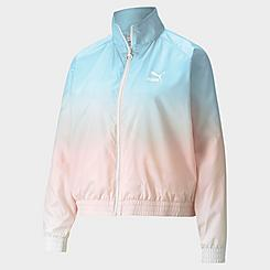 Women's Puma Gloaming Allover Print Full-Zip Jacket
