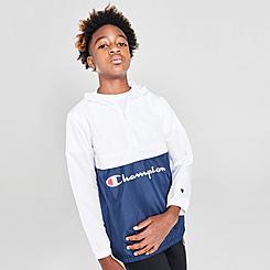 Boys' Champion Colorblock Varsity Windbreaker Jacket