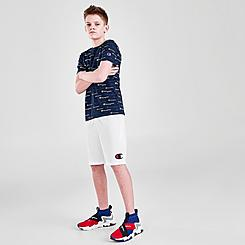 Boys' Champion Big C Logo Mesh Basketball Shorts