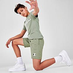 Kids' Champion C Logo French Terry Shorts