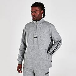 Men's Puma Power Half-Zip Sweatshirt