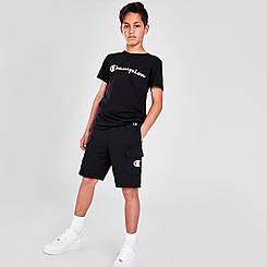 Boys' Champion C Logo French Terry Cargo Shorts