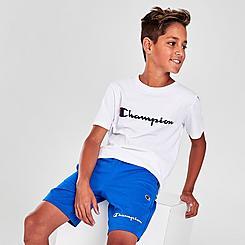 Boys' Champion Script French Terry Shorts