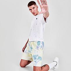 Men's Champion Sun Wash Tie-Dye Fleece Shorts