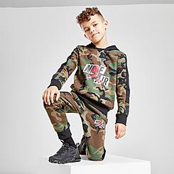 Boys' Little Kids' Jordan Jumpman Classics Camo Pullover Hoodie and Jogger Pants Set