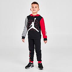 Boys' Little Kids' Jordan BOF Fleece Pullover Hoodie and Jogger Pants Set