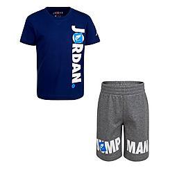 Little Kids' Jordan Jumpman T-Shirt and Shorts Set