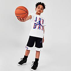 Boys' Little Kids' Jordan Space Glitch Jumpman T-Shirt and Shorts Set