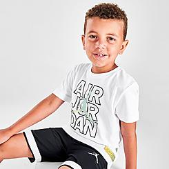 Boys' Little Kids' Air Jordan Wild Tribe T-Shirt