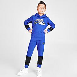 Boys' Little Kids' Jordan Jumpman Hoodie and Jogger Pants Fleece Set