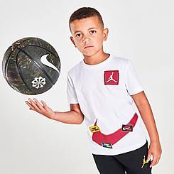 Boys' Little Kids' Jordan Jumpman Swoosh Sticker T-Shirt