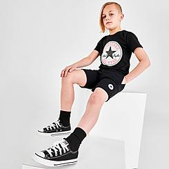 Boys' Little Kids' Converse French Terry Chuck Patch Shorts